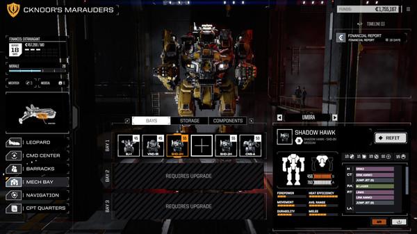 Скриншот №5 к BATTLETECH Shadow Hawk Pack