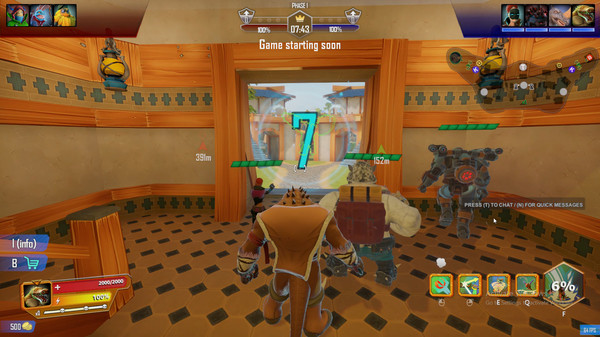 Скриншот №5 к Clash Mutants Vs Pirates
