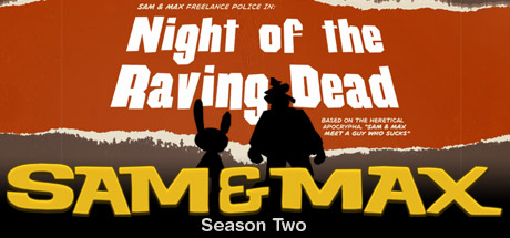 Sam & Max 203: Night of the Raving Dead Cover Image