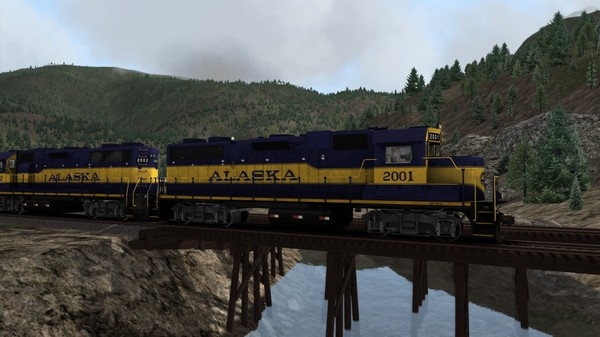 скриншот TS Marketplace: Alaska Railroad Scenario Pack 01 5