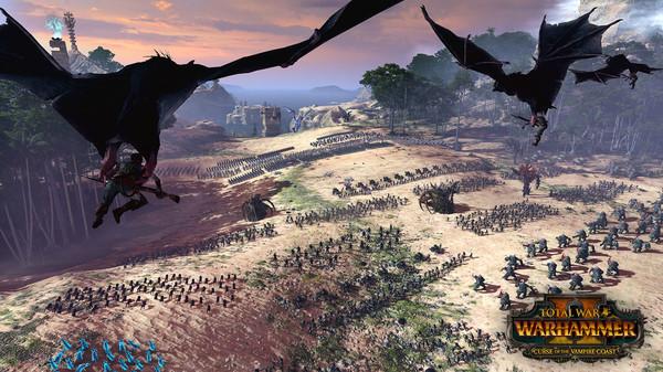 Скриншот №5 к Total War WARHAMMER II - Curse of the Vampire Coast