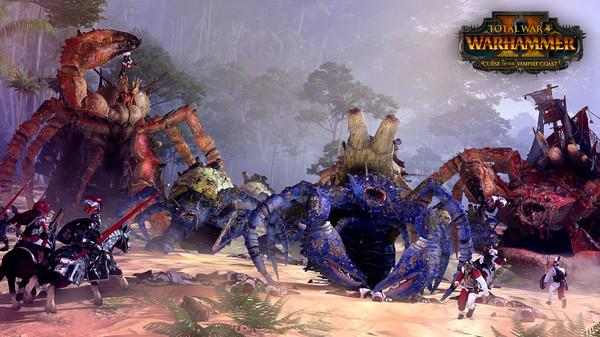 Скриншот №3 к Total War WARHAMMER II - Curse of the Vampire Coast