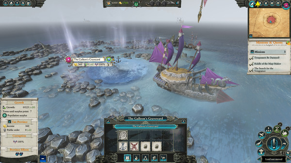 Скриншот №15 к Total War WARHAMMER II - Curse of the Vampire Coast