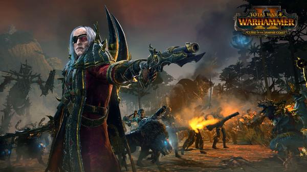 Скриншот №1 к Total War WARHAMMER II - Curse of the Vampire Coast