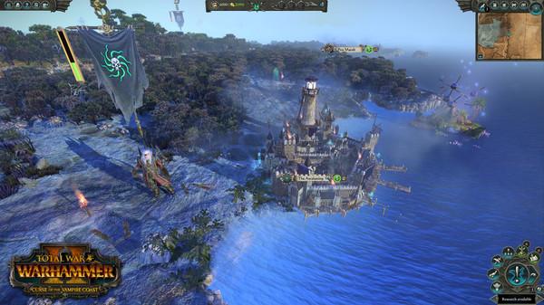 Скриншот №6 к Total War WARHAMMER II - Curse of the Vampire Coast