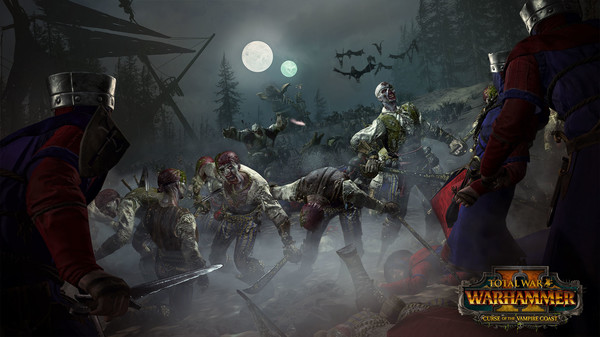 Скриншот №4 к Total War WARHAMMER II - Curse of the Vampire Coast