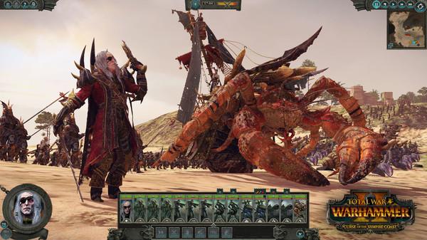 Скриншот №7 к Total War WARHAMMER II - Curse of the Vampire Coast