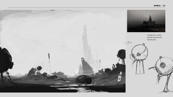 Скриншот №3 к FAR Lone Sails - Digital Artbook
