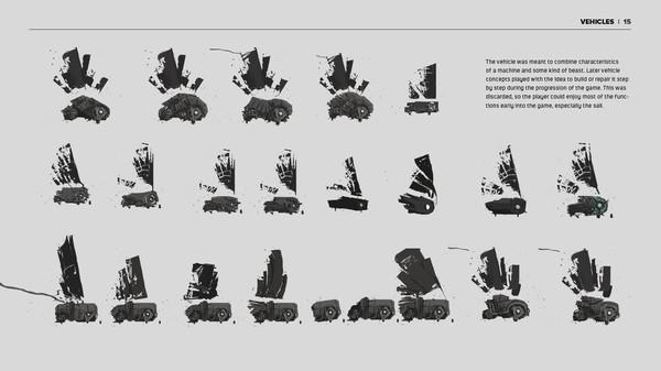 Скриншот №2 к FAR Lone Sails - Digital Artbook