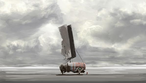 Скриншот №1 к FAR Lone Sails - Digital Artbook