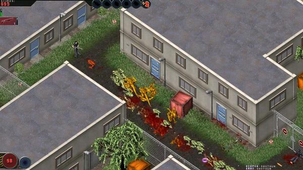 Скриншот №1 к Alien Shooter - The Experiment