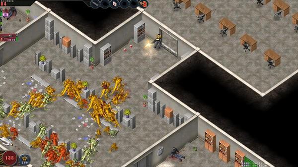 Скриншот №3 к Alien Shooter - The Experiment