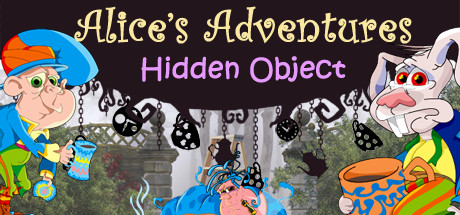 Alice's Adventures - Hidden Object. Wimmelbild