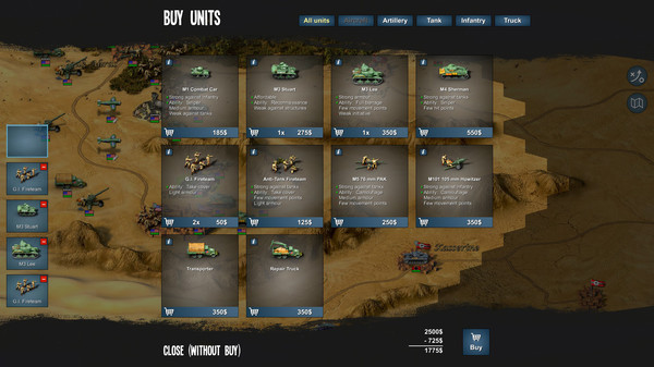 скриншот Tank Operations: European Campaign 4