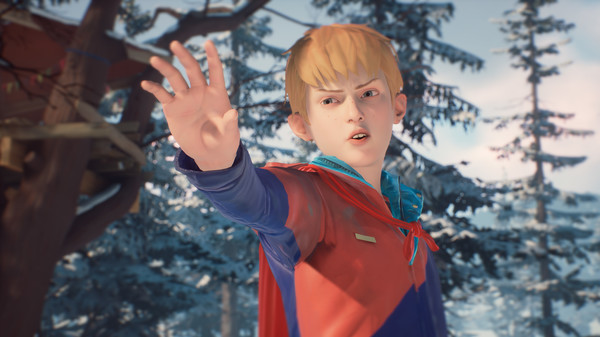 The Awesome Adventures of Captain Spirit скриншот