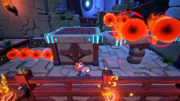 Скриншот №3 к Super Luckys Tale