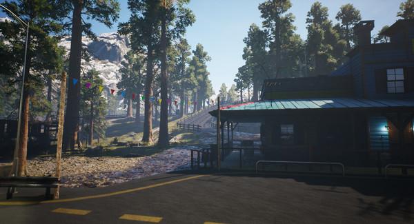 Скриншот №3 к Alaskan Truck Simulator