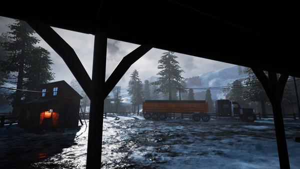 Скриншот №18 к Alaskan Truck Simulator