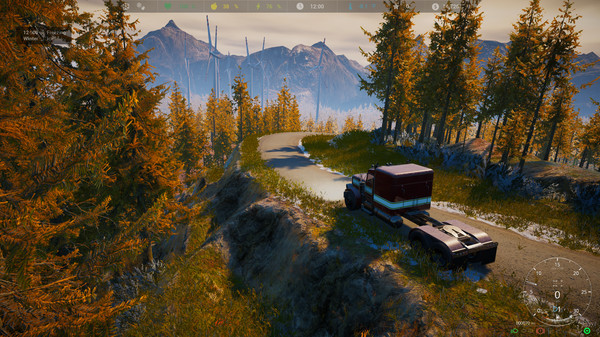 Скриншот №1 к Alaskan Truck Simulator
