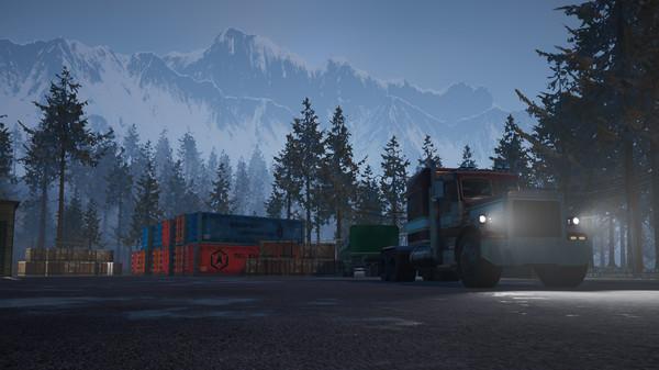 Скриншот №10 к Alaskan Truck Simulator
