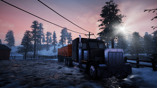 Скриншот №16 к Alaskan Truck Simulator
