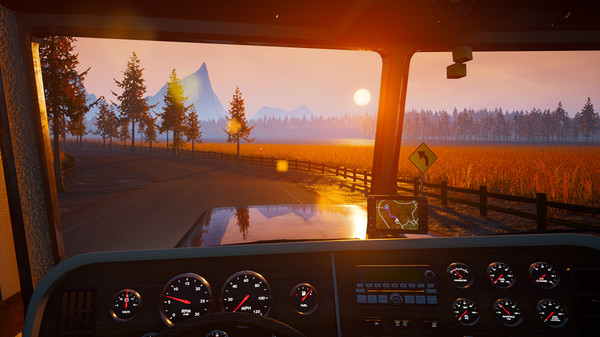 Скриншот №4 к Alaskan Truck Simulator