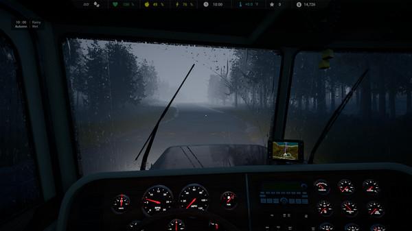 Скриншот №2 к Alaskan Truck Simulator