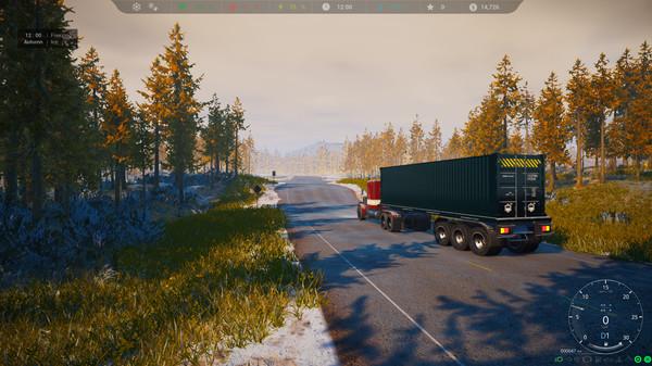 Скриншот №6 к Alaskan Truck Simulator