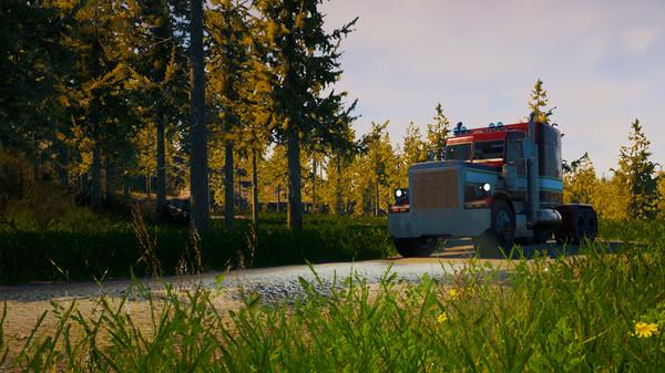 Скриншот №7 к Alaskan Truck Simulator