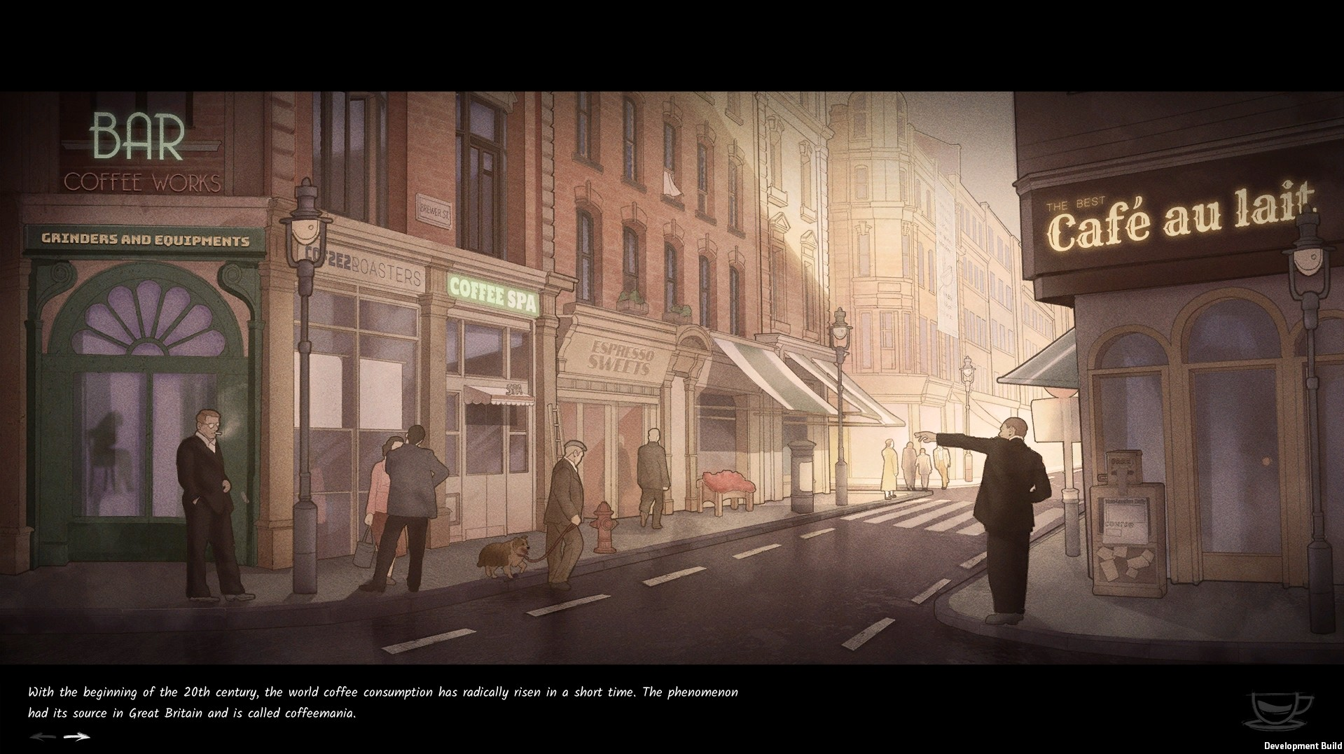 Coffee Noir - Business Detective Game screenshot 3