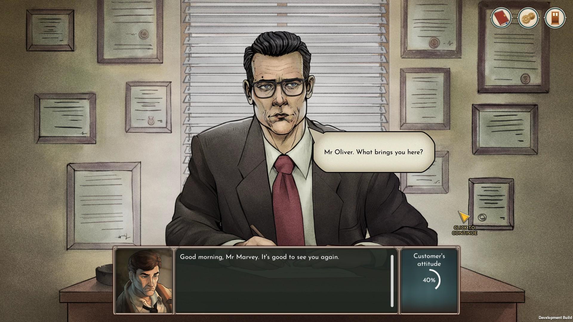 Coffee Noir - Business Detective Game screenshot 2