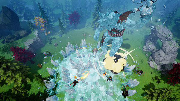 Скриншот №2 к Tribes of Midgard