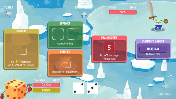 Dicey Dungeons Free Steam Key 1