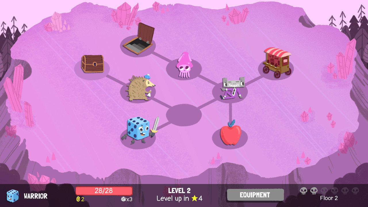 Dicey Dungeons screenshot 2