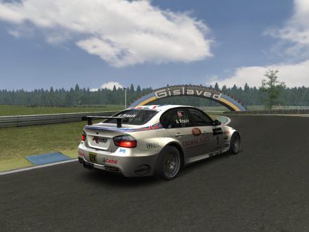 скриншот RACE 07: Andy Priaulx Crowne Plaza Raceway (Free DLC) 1