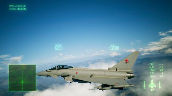 Скриншот №2 к ACE COMBAT™ 7 SKIES UNKNOWN - ADF-11F Raven Set