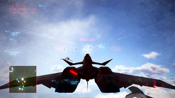 Скриншот №7 к ACE COMBAT™ 7 SKIES UNKNOWN - ADF-11F Raven Set