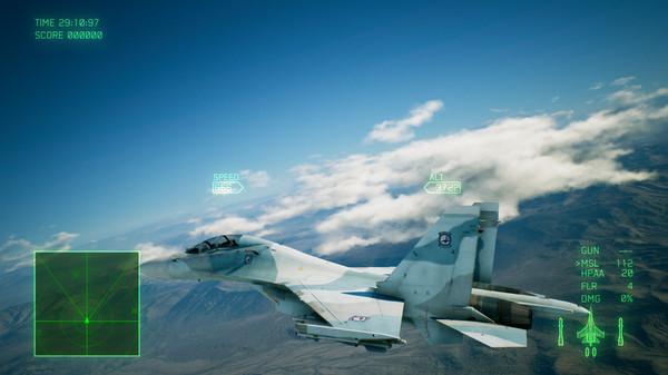 Скриншот №5 к ACE COMBAT™ 7 SKIES UNKNOWN - ADF-11F Raven Set
