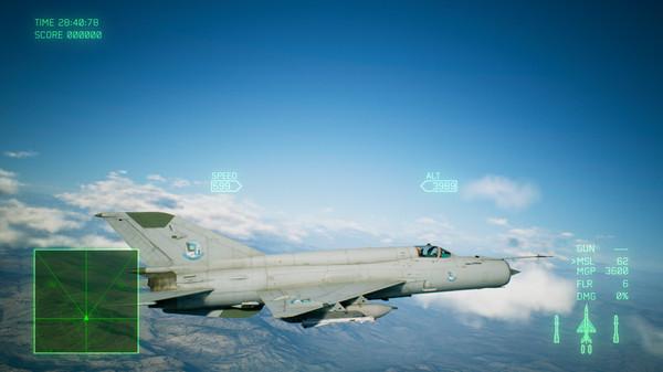 Скриншот №4 к ACE COMBAT™ 7 SKIES UNKNOWN - ADF-11F Raven Set