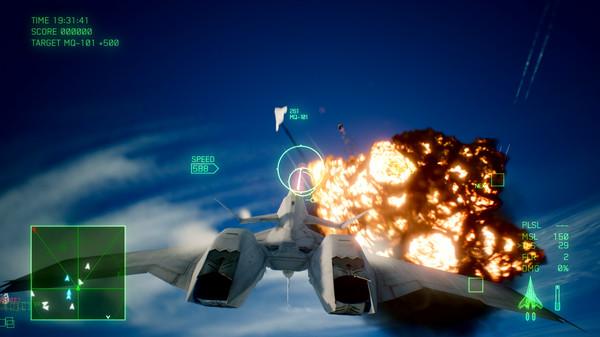 Скриншот №6 к ACE COMBAT™ 7 SKIES UNKNOWN - ADF-11F Raven Set