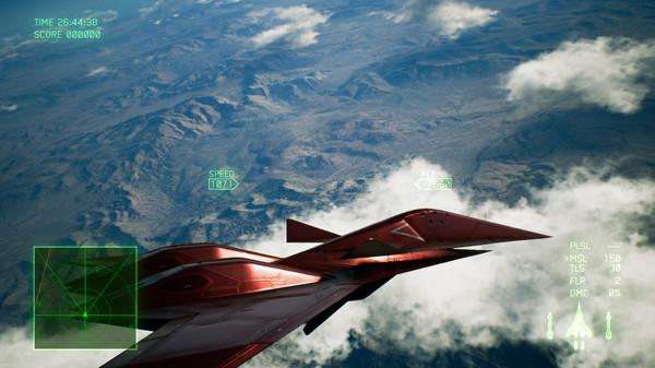 Скриншот №1 к ACE COMBAT™ 7 SKIES UNKNOWN - ADF-11F Raven Set