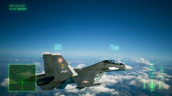 Скриншот №4 к ACE COMBAT™ 7 SKIES UNKNOWN - ADF-01 FALKEN Set