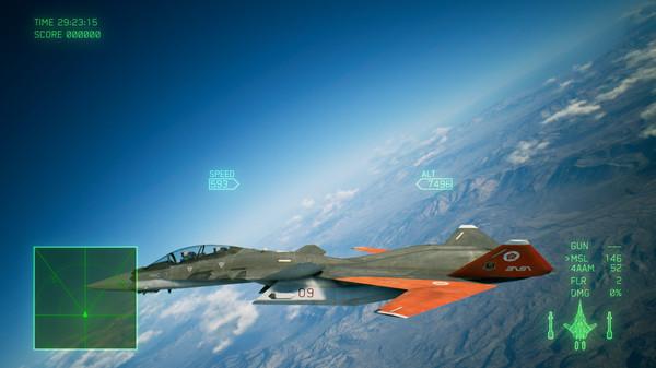 Скриншот №6 к ACE COMBAT™ 7 SKIES UNKNOWN - ADFX-01 Morgan Set