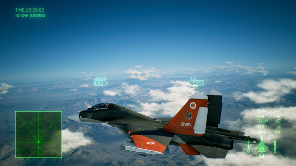 Скриншот №3 к ACE COMBAT™ 7 SKIES UNKNOWN - ADFX-01 Morgan Set