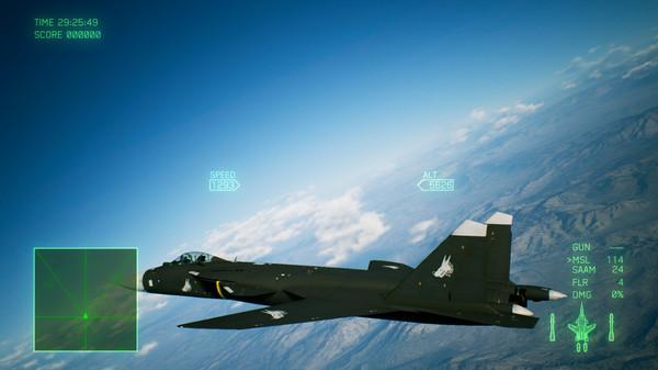 Скриншот №5 к ACE COMBAT™ 7 SKIES UNKNOWN - ADFX-01 Morgan Set