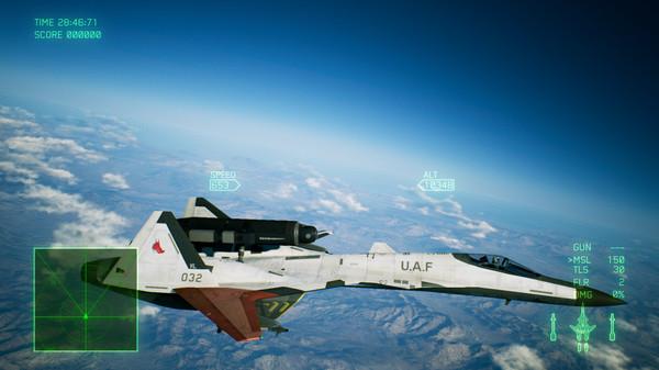 Скриншот №1 к ACE COMBAT™ 7 SKIES UNKNOWN - ADFX-01 Morgan Set