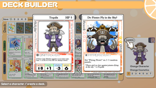 Скриншот №4 к 100 Orange Juice - Tsih  Tequila Character Pack