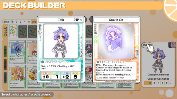 Скриншот №2 к 100 Orange Juice - Tsih  Tequila Character Pack