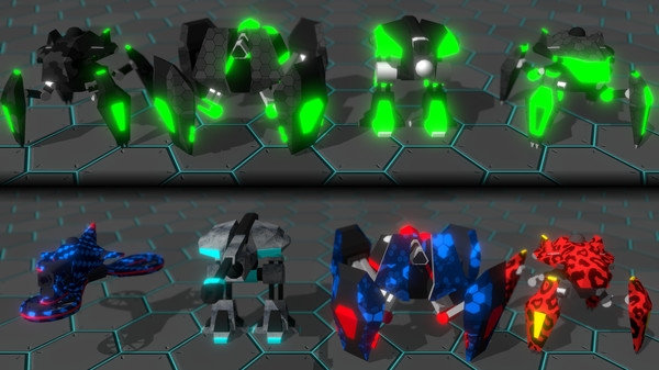 Скриншот №15 к GLADIABOTS - AI Combat Arena