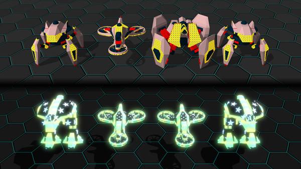 Скриншот №10 к GLADIABOTS - AI Combat Arena